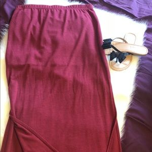 Charlotte Russe maxi skirt once once!